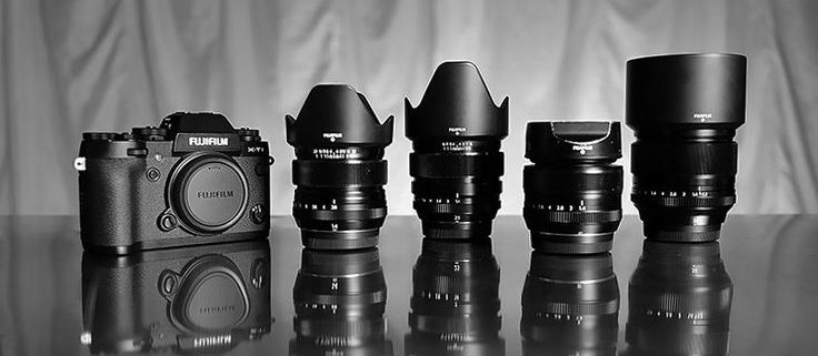 Fujifilm camera gear