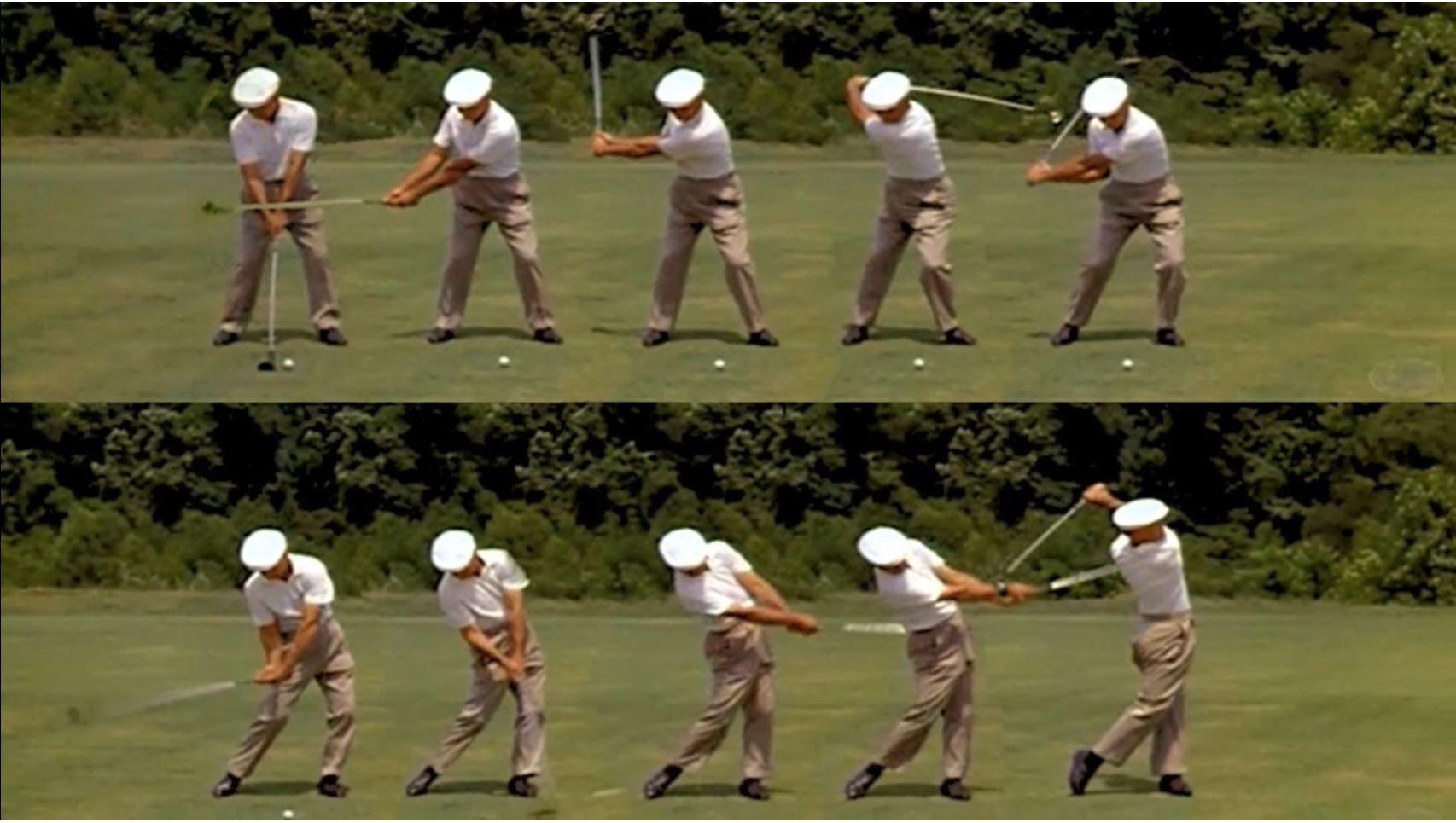 2ben hogan swing golf