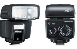 Nissin i40 with Fujifilm
