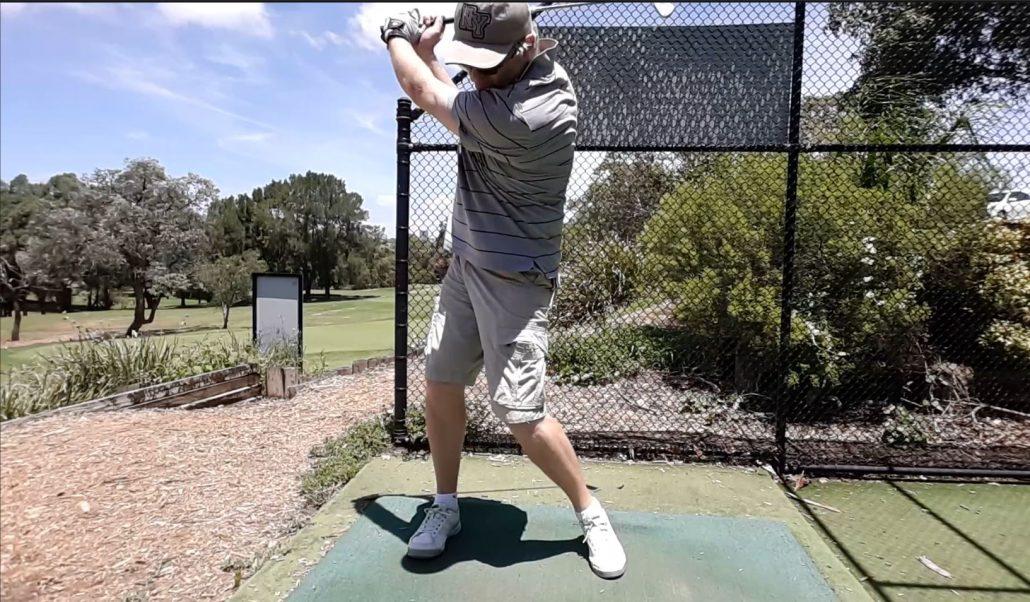 golf swing over-rotation