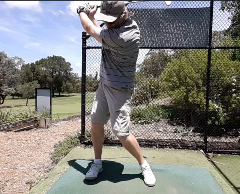 golf swing over-rotation