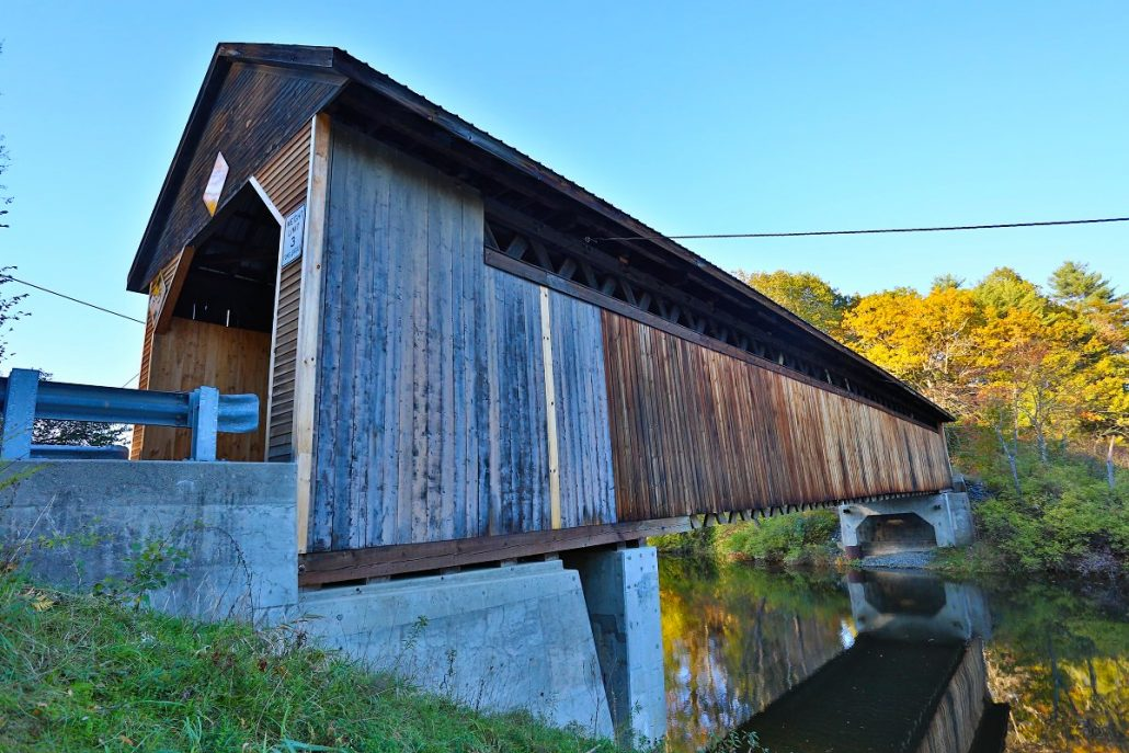 Covered Bridge - Vermont USA